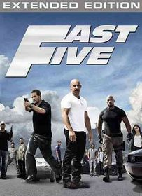 Fast Five (Extended Edition) - (Region 1 Import DVD)