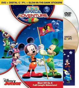 Mickey Mouse Clubhouse:Space Adventur - (Region 1 Import DVD)