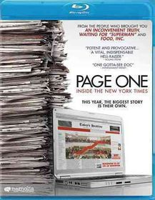 Page One:Inside the New York Times - (Region A Import Blu-ray Disc)