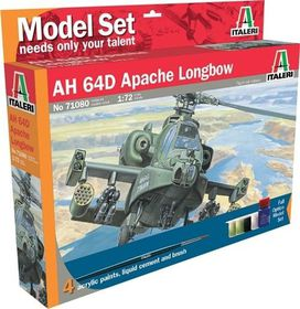 Italeri - 1/72 080 AH-64 D Apache Model-set