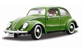 Burago - 1/18 VW Beetle 1955 - Beige