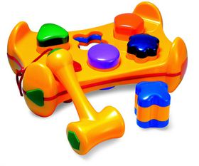 Tolo - Toys Shape Sorter Play Bench