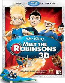 Meet the Robinsons 3d - (Region A Import Blu-ray Disc)