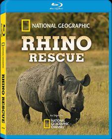National Geographics: Rhino Rescue (Blu Ray)