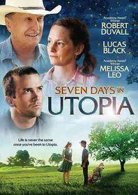 Seven Days in Utopia - (Region 1 Import DVD)