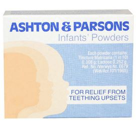 Ashton and Parsons - Teething Powder 20's