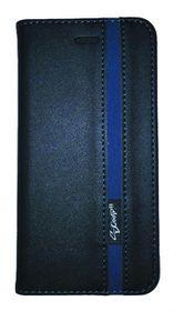 Scoop Executive Folio For Sony Xperia M5 Aqua - Black & Blue