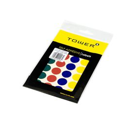 Tower C19 Colour Code Labels (Sheets) - Mixed Colours