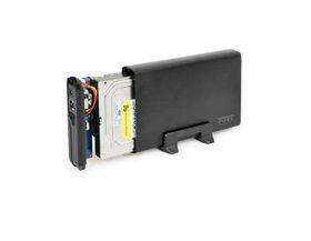 PORT HDD Enclosure Sata 3.5'' - Black
