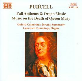 Purcell:Music on the Death of Queen M - (Import CD)