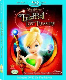 Tinker Bell and the Lost Treasure (2009) (DVD/ Blu-ray combo)