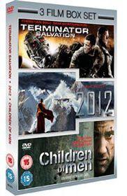 2012 / Terminator Salvation / Children of Men - (Import DVD)